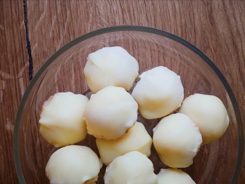 Glutenfria citronbiskvier