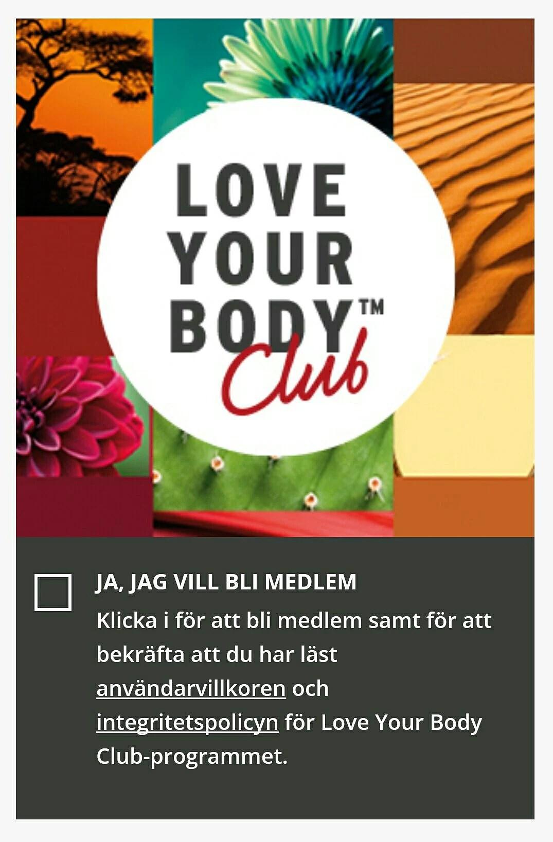 body shop kundklubb