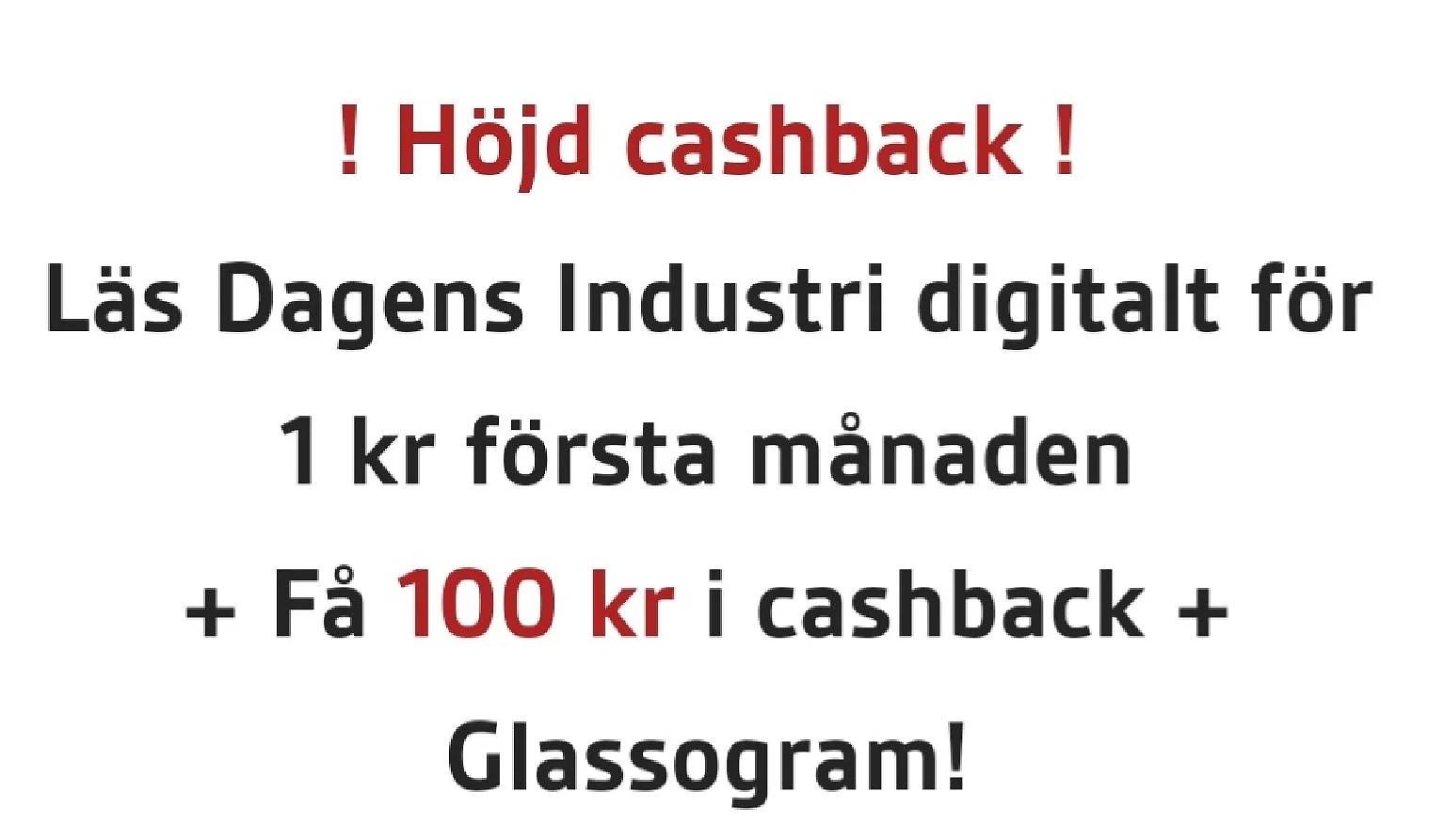 Prova DI digital för 1 kr första månaden...