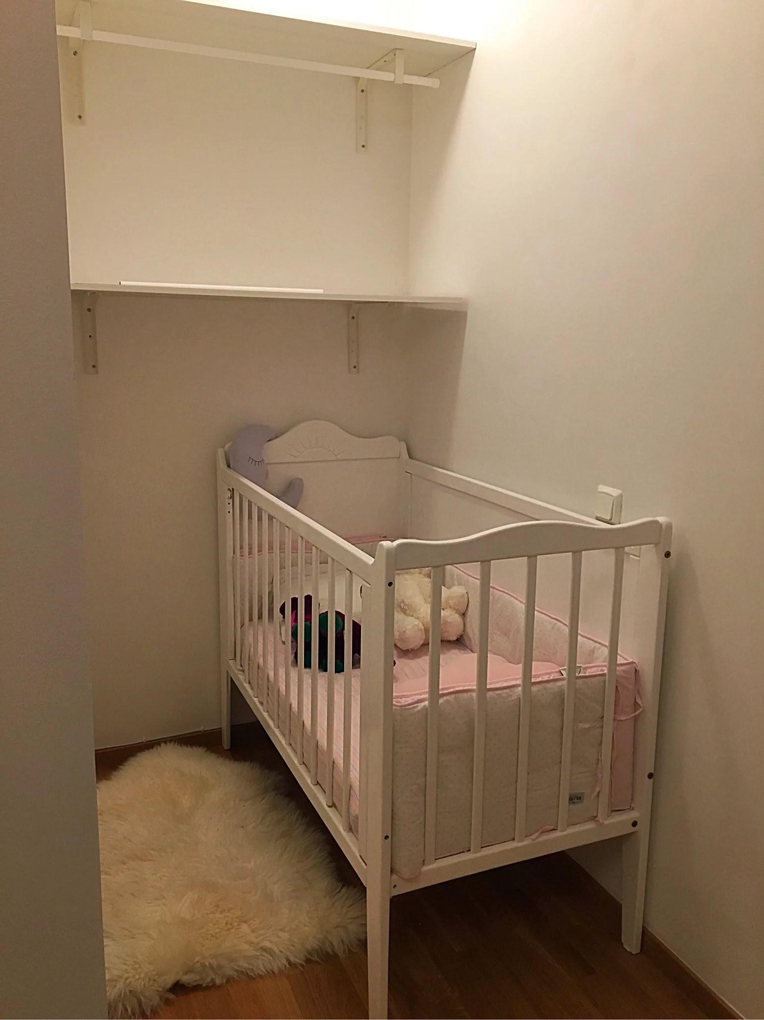 Äntligen så är sängen på plats