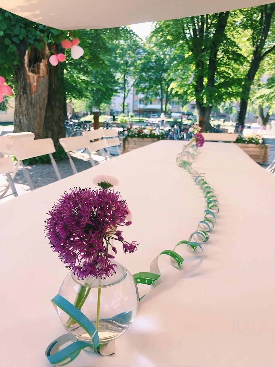 Work and beautiful salads