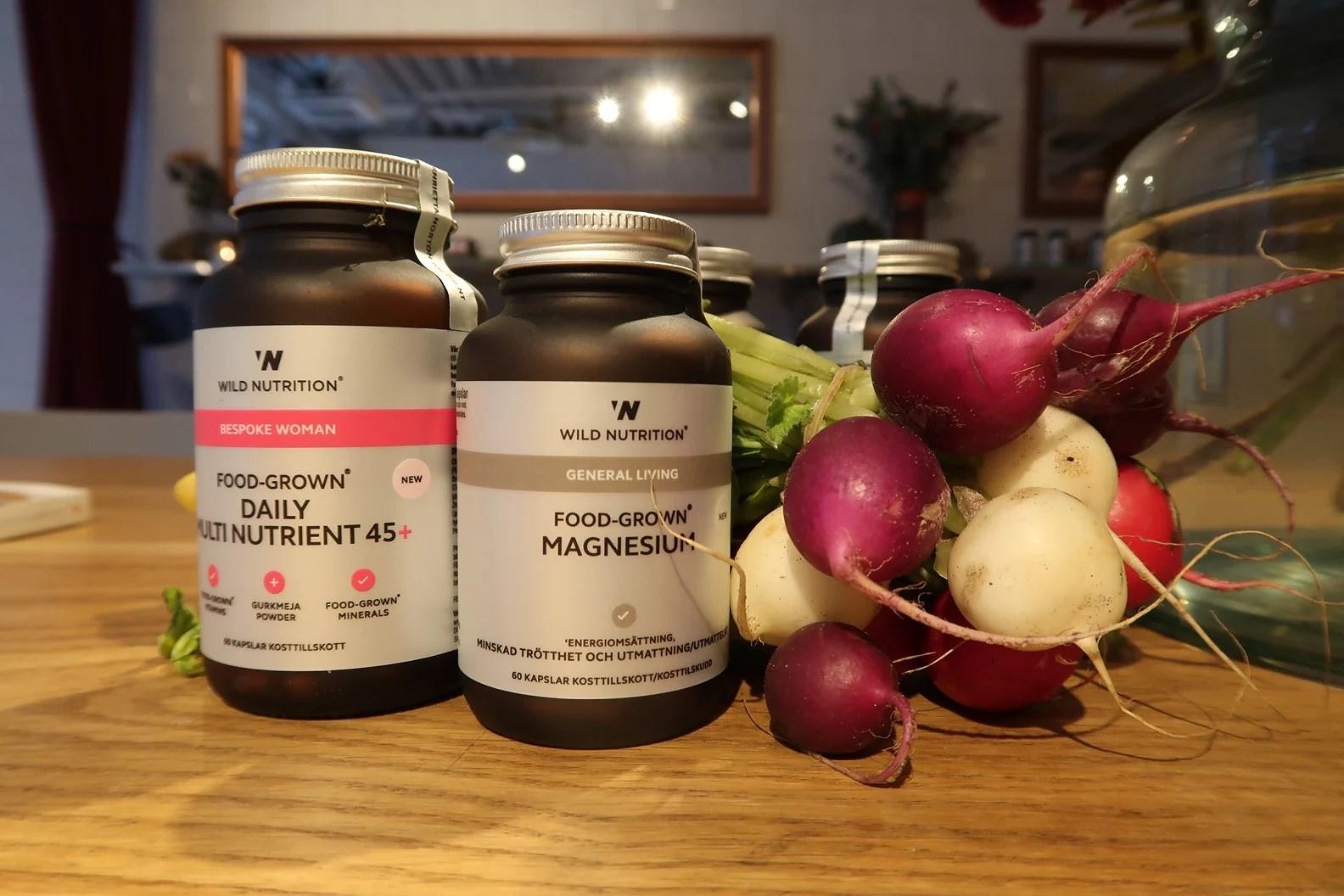 Wild nutrition lanseras i Sverige!