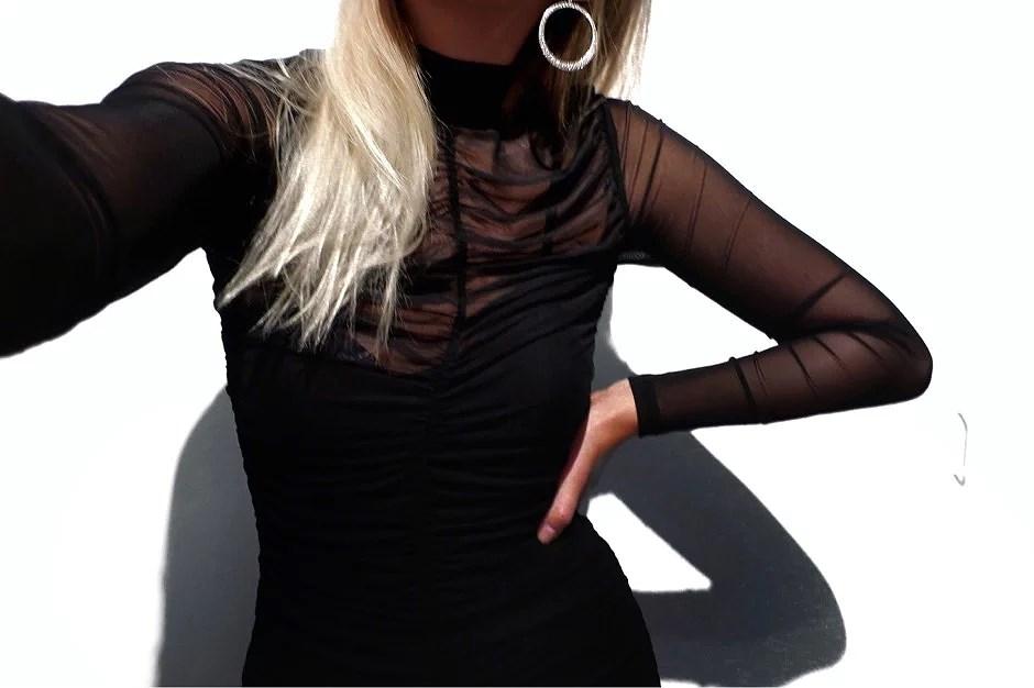 POLLY MESH DRESS