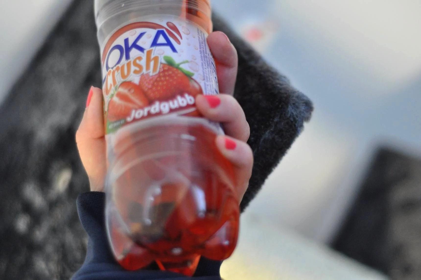 Valborg: Loka crush jordgubb