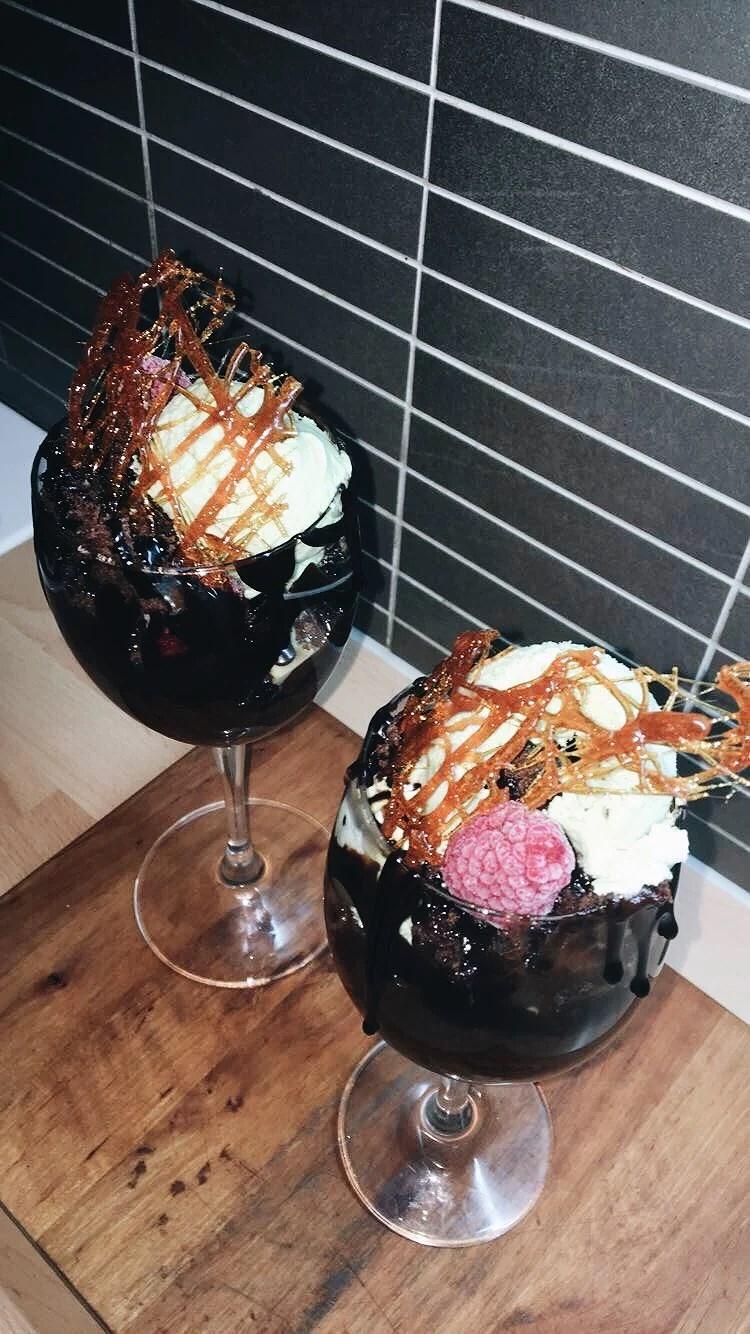 Chokladdröm med pistageglass
