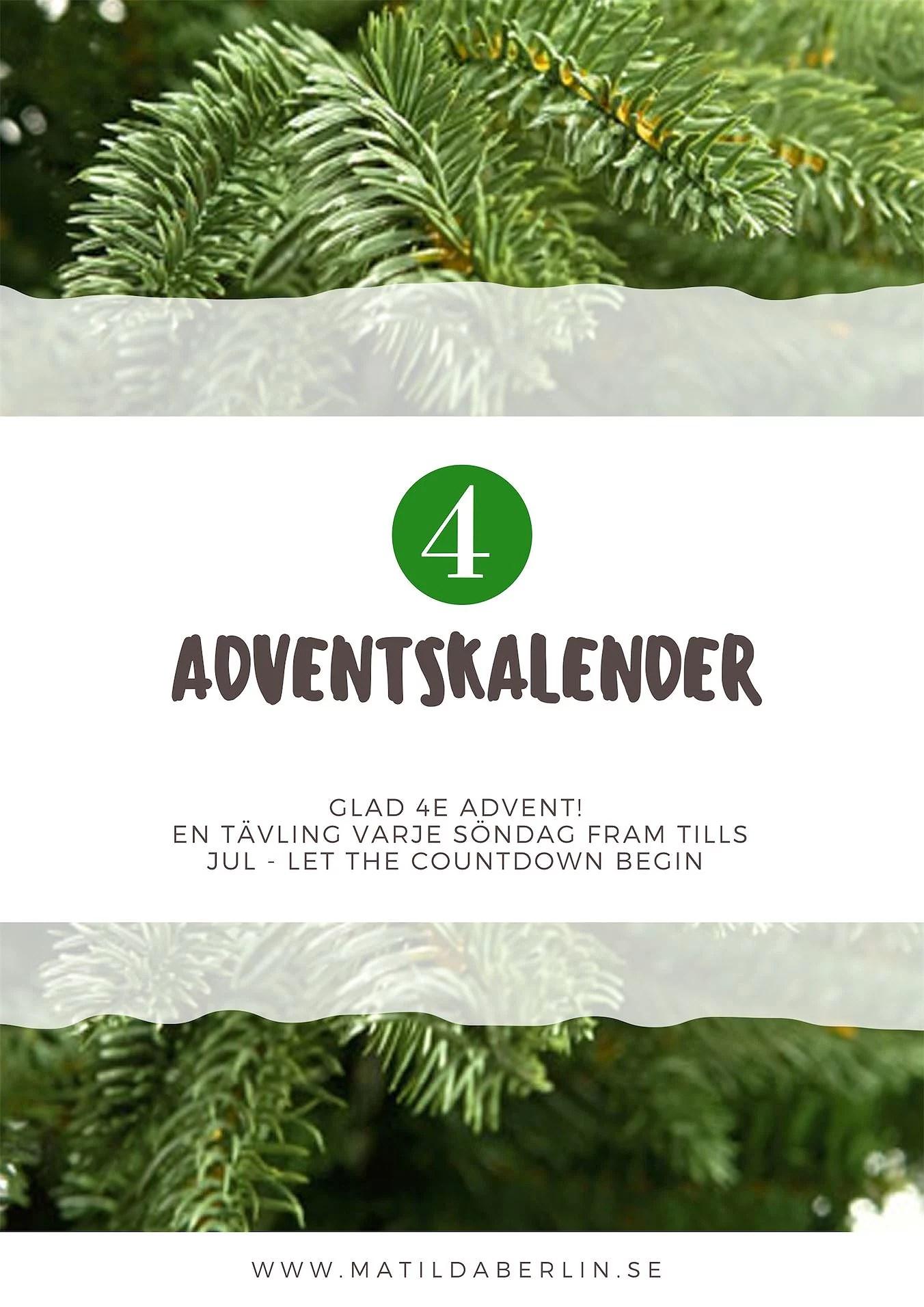 Adventskalender - lucka 4
