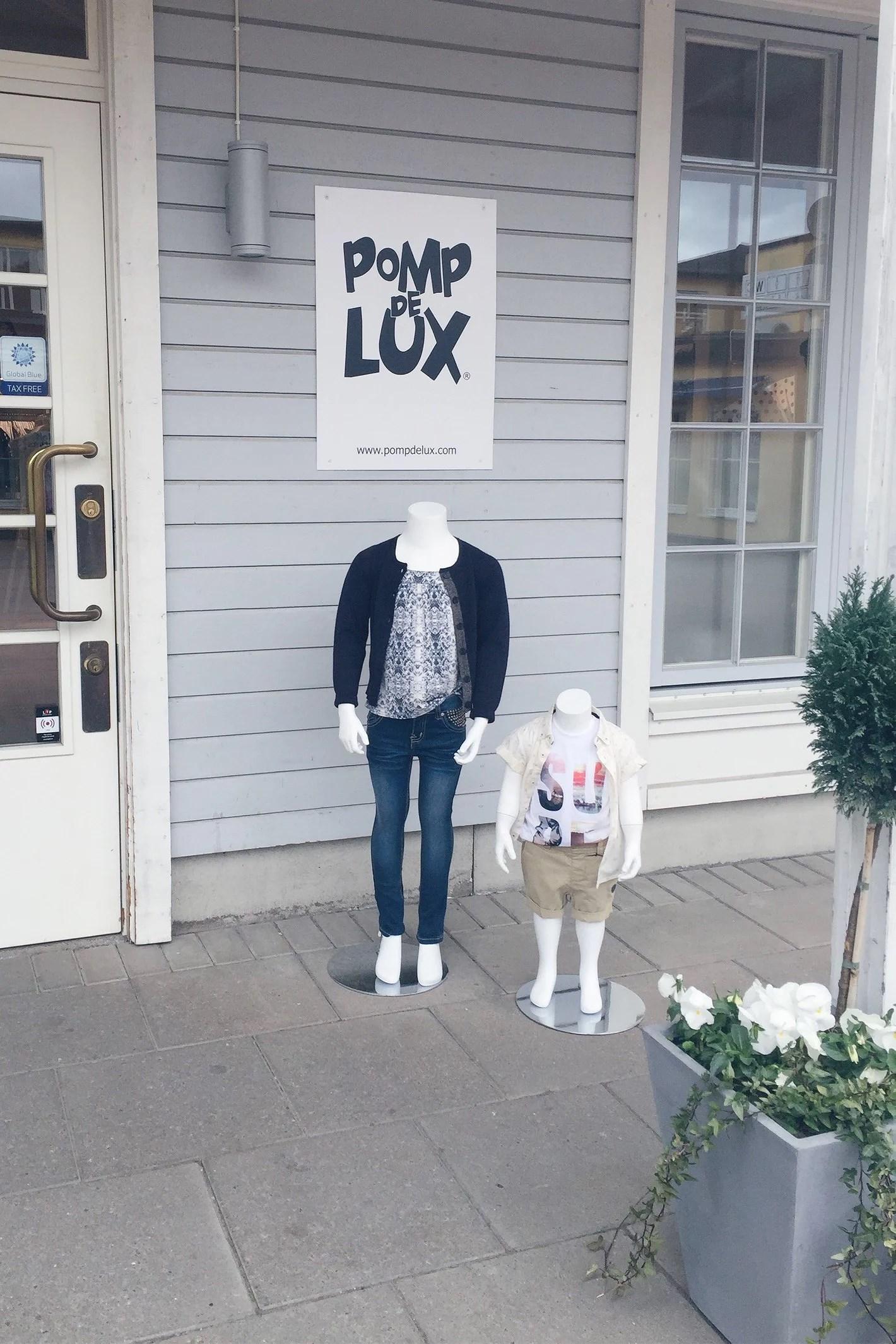 POMP DE LUX OUTLET