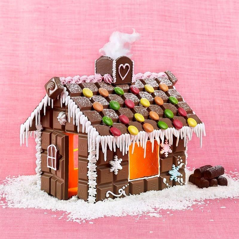 Bygg ditt egna chokladhus.