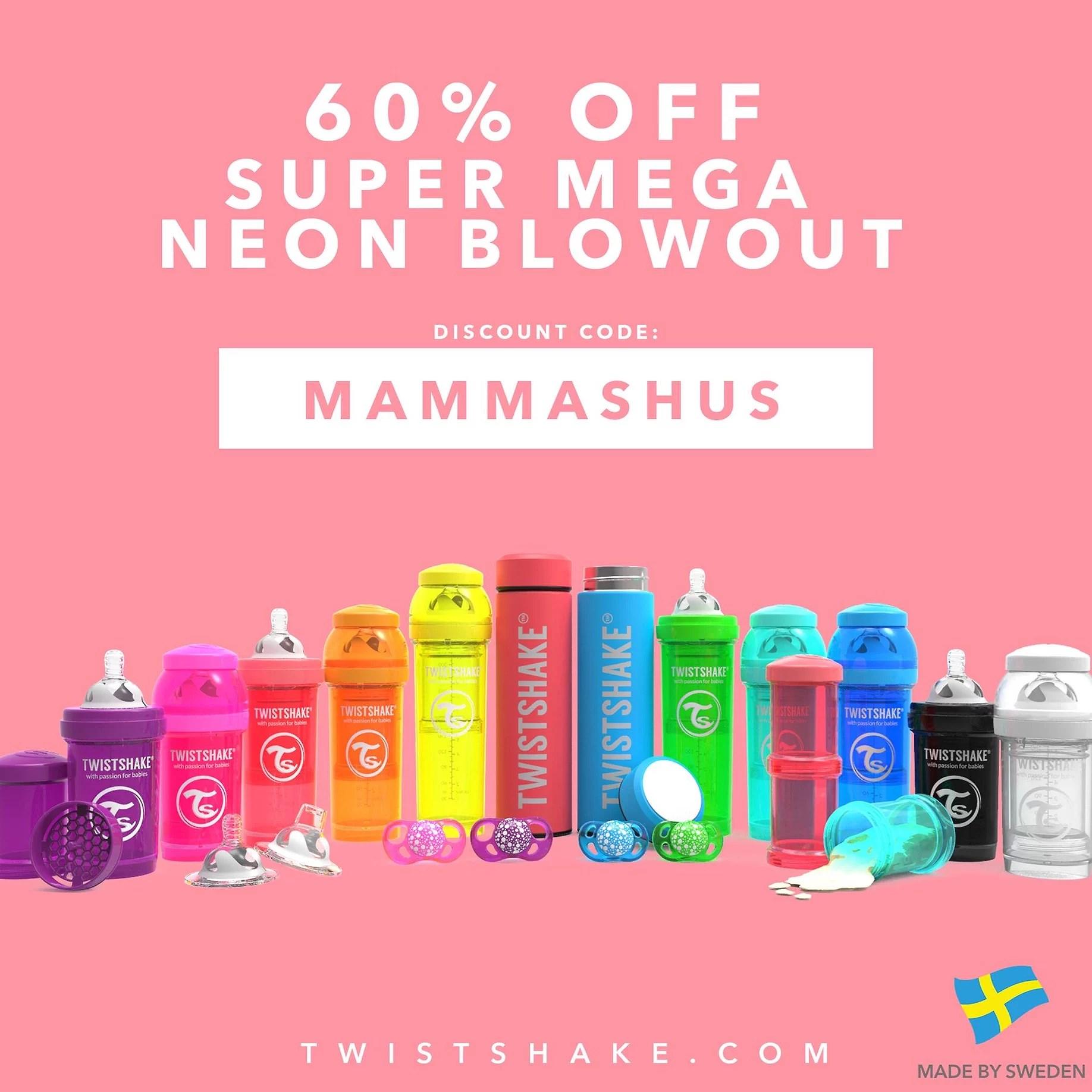Neon-bonanza blowout!