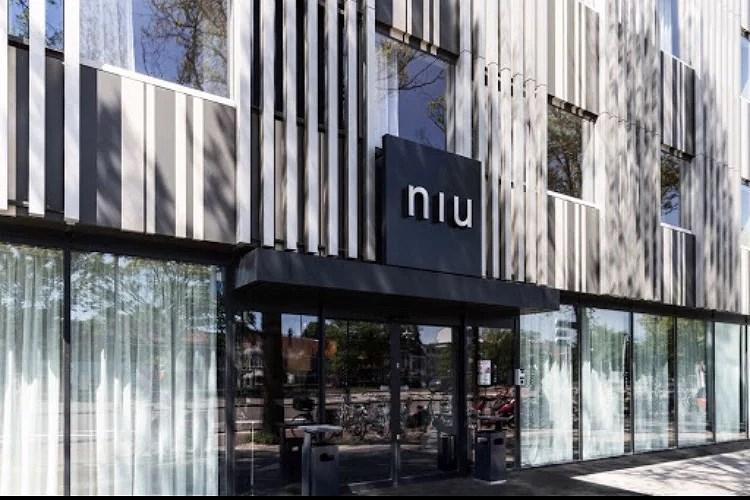 Slapen in het Niu Dairy Hotel Haarlem
