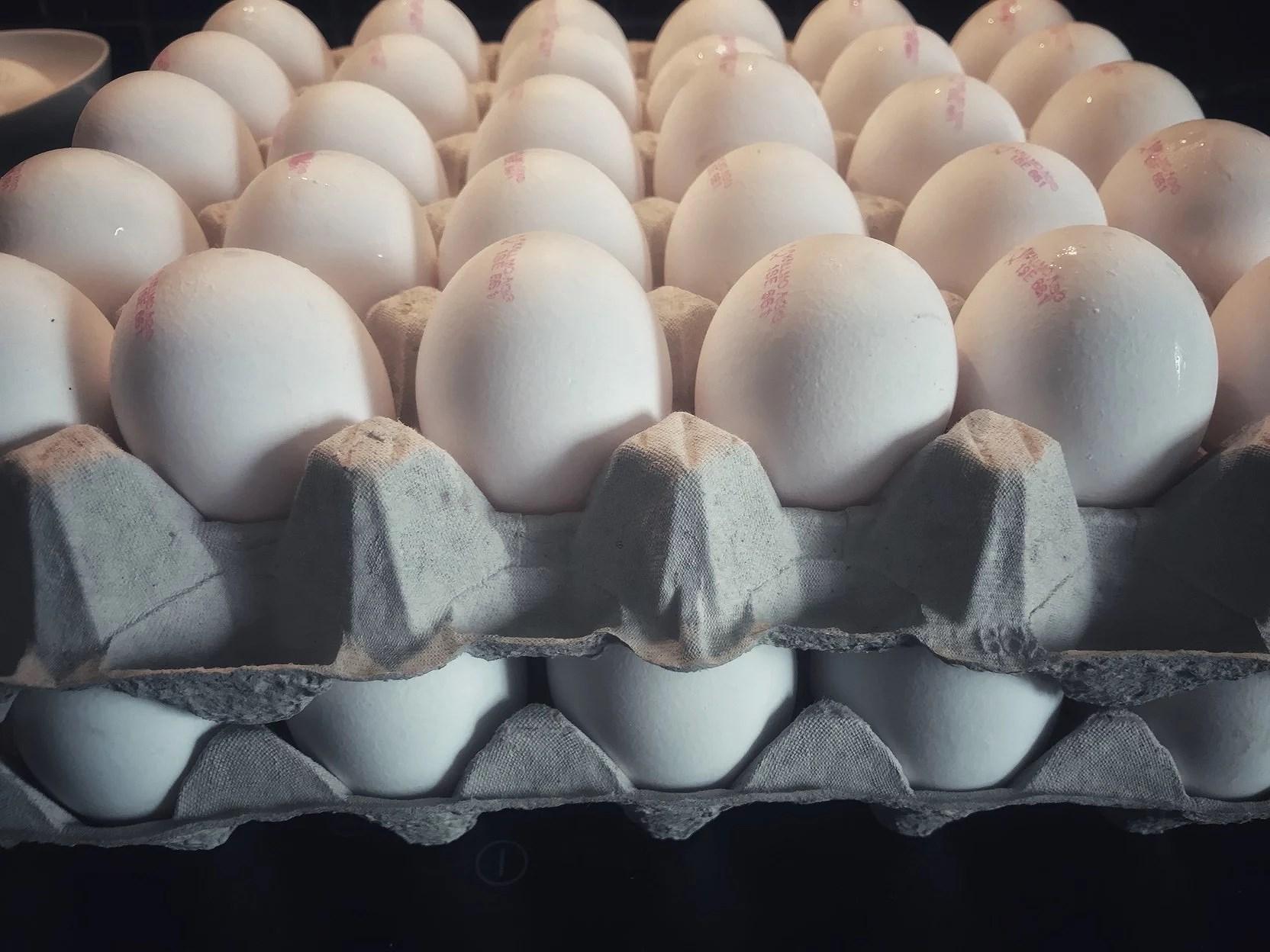 Ägg och grill på G