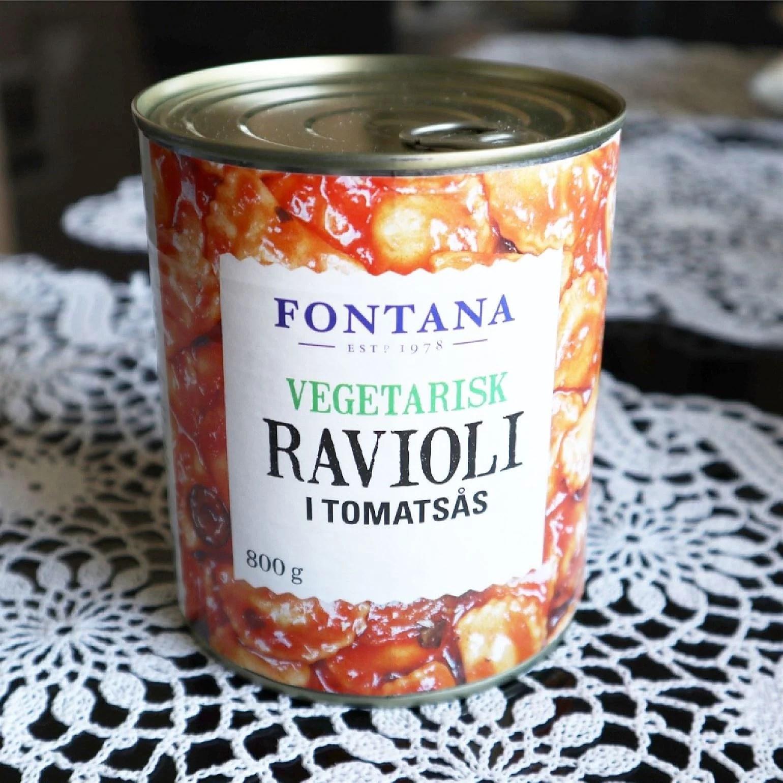 Vegansk ravioli från Fontana