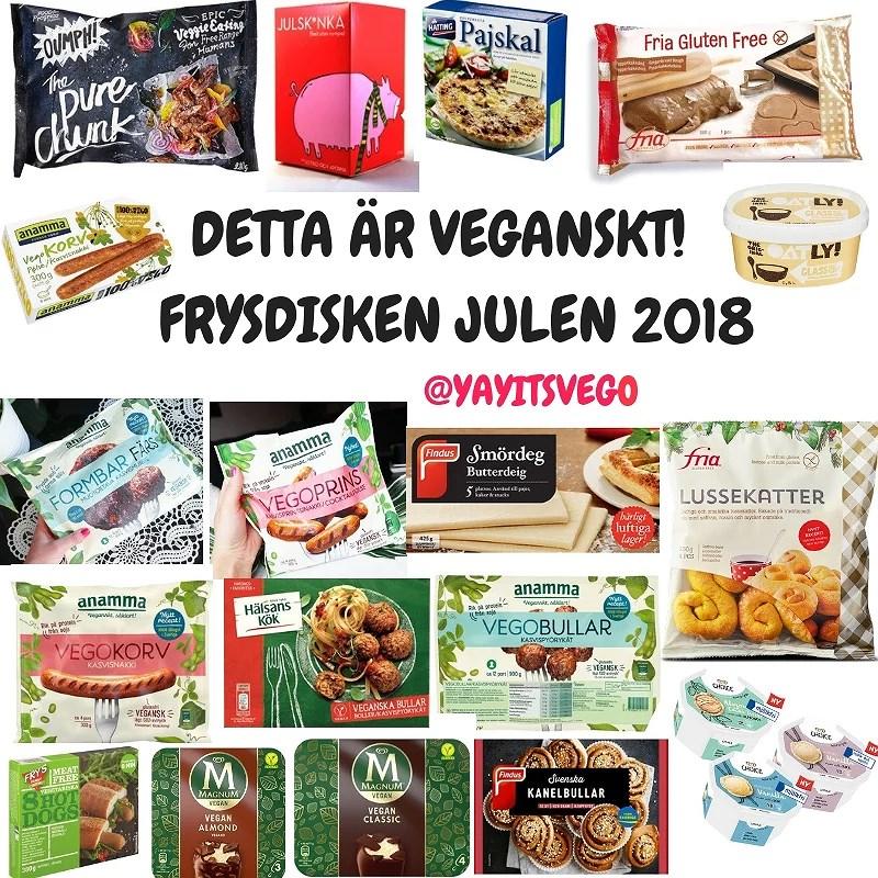 Vegansk julmat 2018 - det här kan du köpa i matbutiken