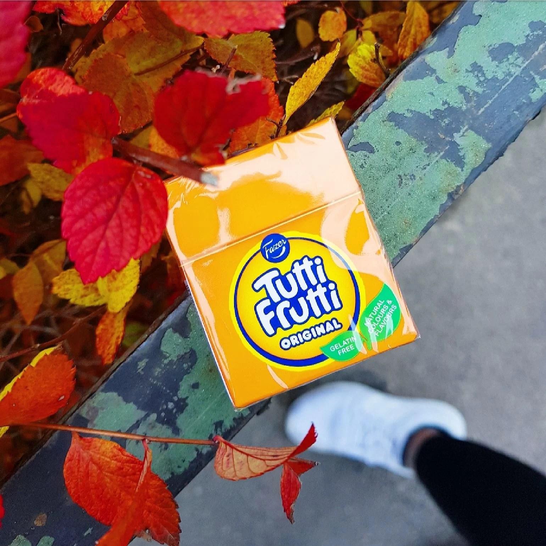 Tutti Frutti tablettask vegansk!