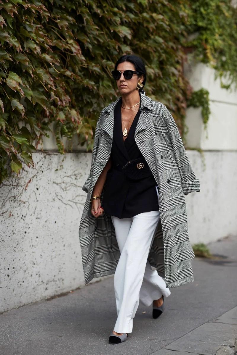 Från gatan till garderoben, från modeveckan i Milano.