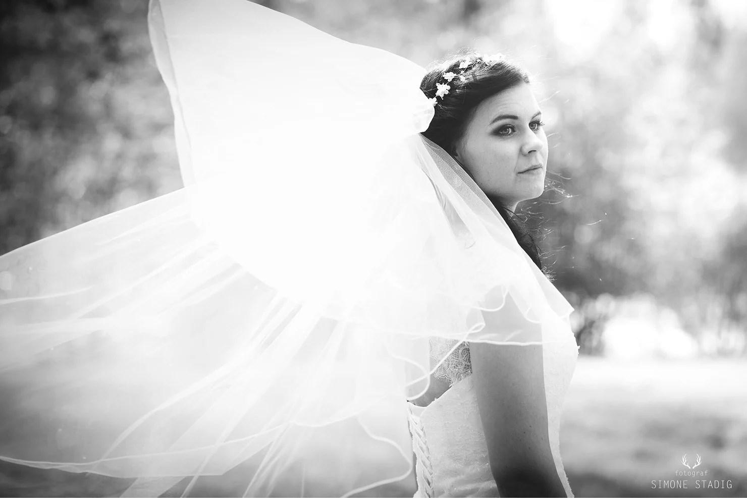 Bröllopsklänningen