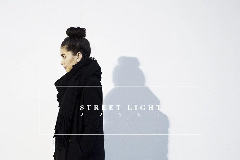street light donut -
