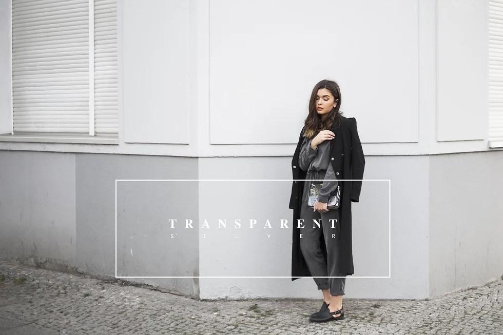 transparent silver -