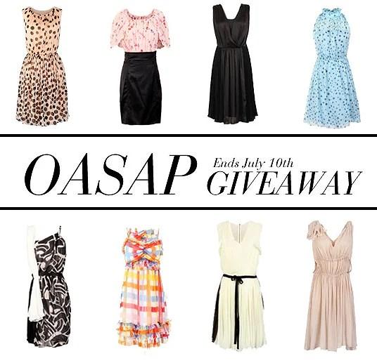 OASAP Giveaway / Sorteo OASAP!!