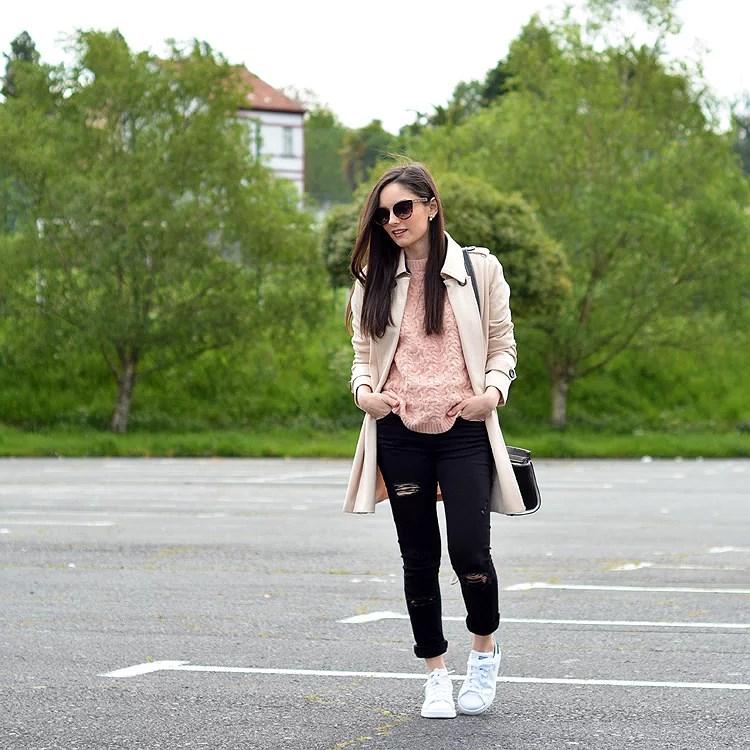 Zara_ootd_outfit_oasap_stan_smith_como combinar_sneakers_jeans_01