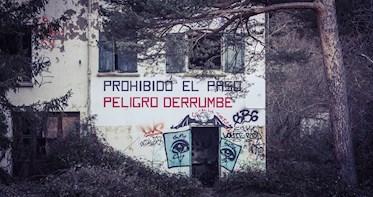 Abandoned tuberculosis sanatorium of Agramonte