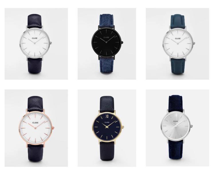 Black Friday - get 15% off Cluse watches