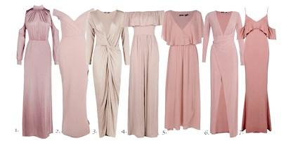 fabriker Los Angeles usa billig försäljning En rosa somrig klänning | bylolloz