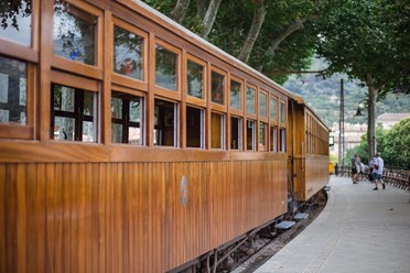 Train from Plama to Soller