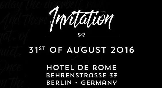 Mode event i Berlin