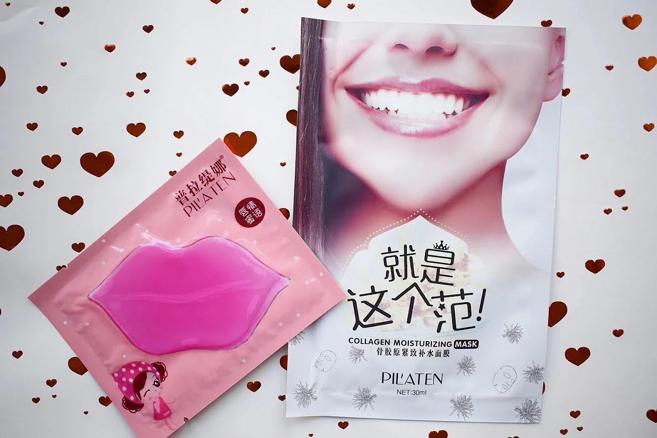Læbemaske, collagen maske