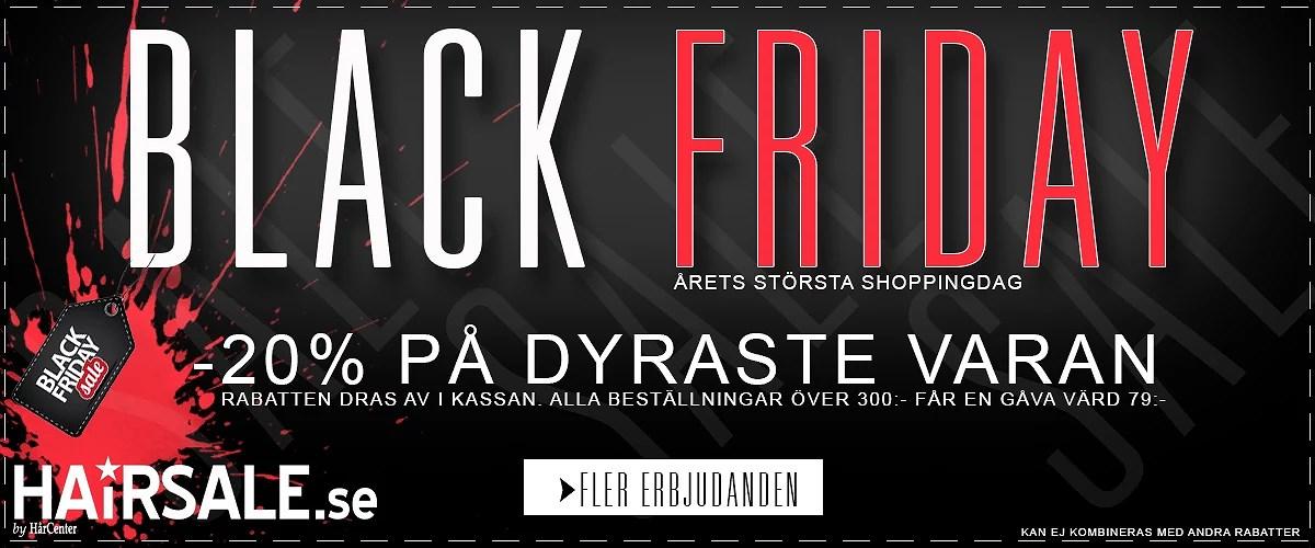 BLACK FRIDAY hos Hairsale.se