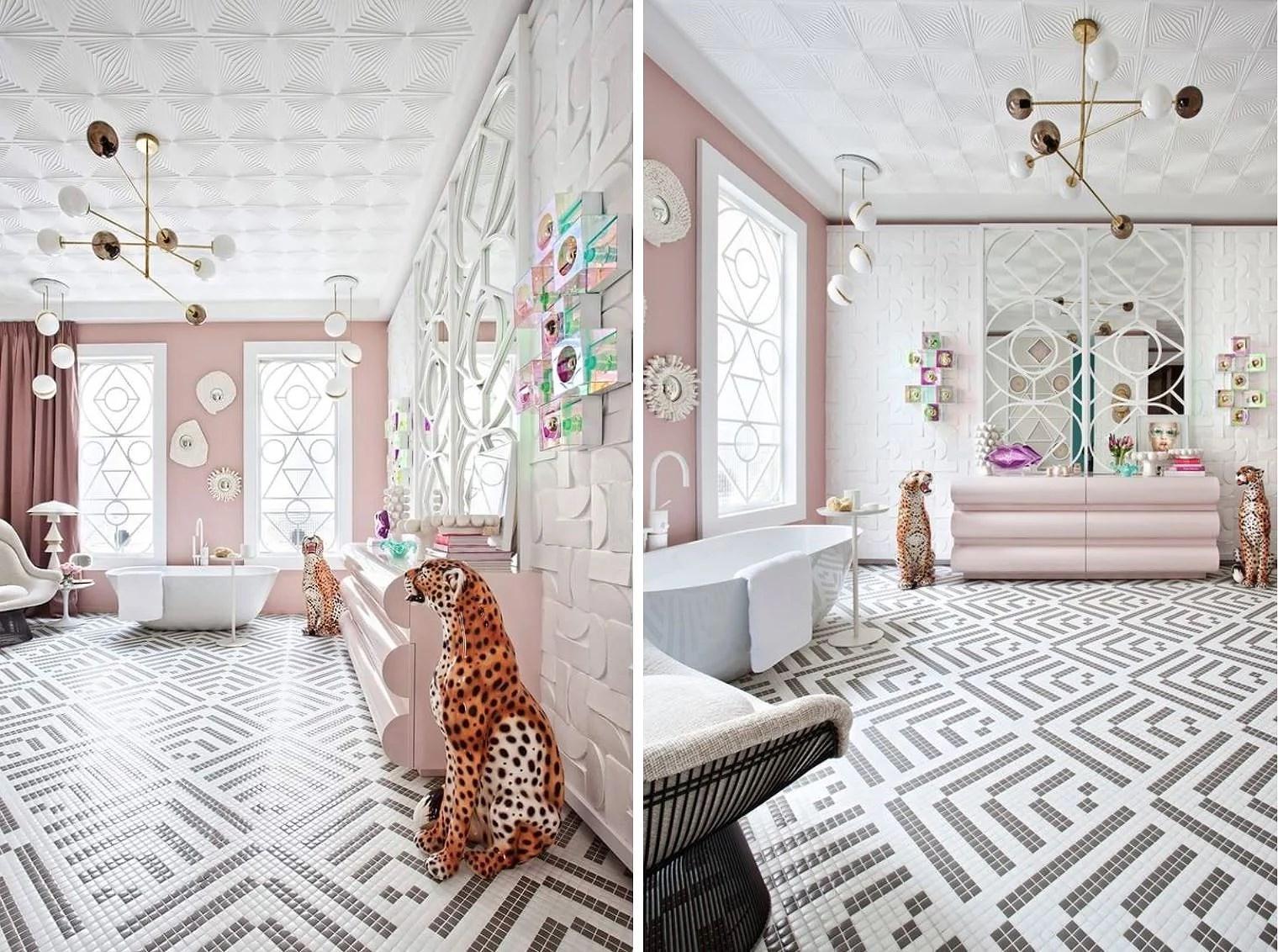 Dagens inspirasjon: Mosaic Bathroom