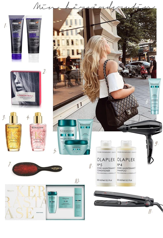 Allt om mitt hår - tips & vilka produkter jag använder