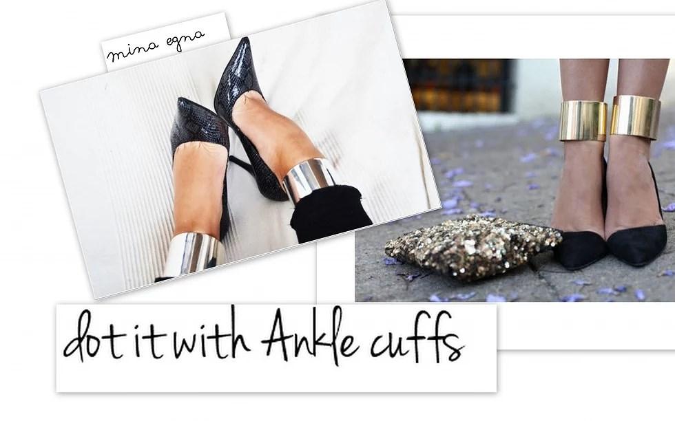 Anklecuffs.