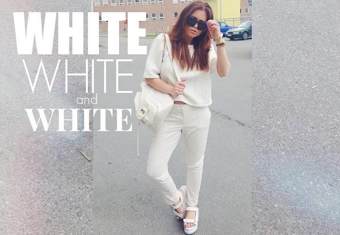 WHITE X THREE