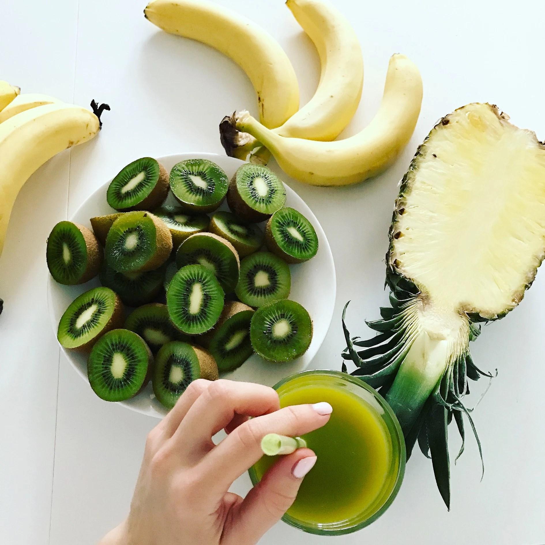Mój ulubiony zielony koktajl odchudzający!