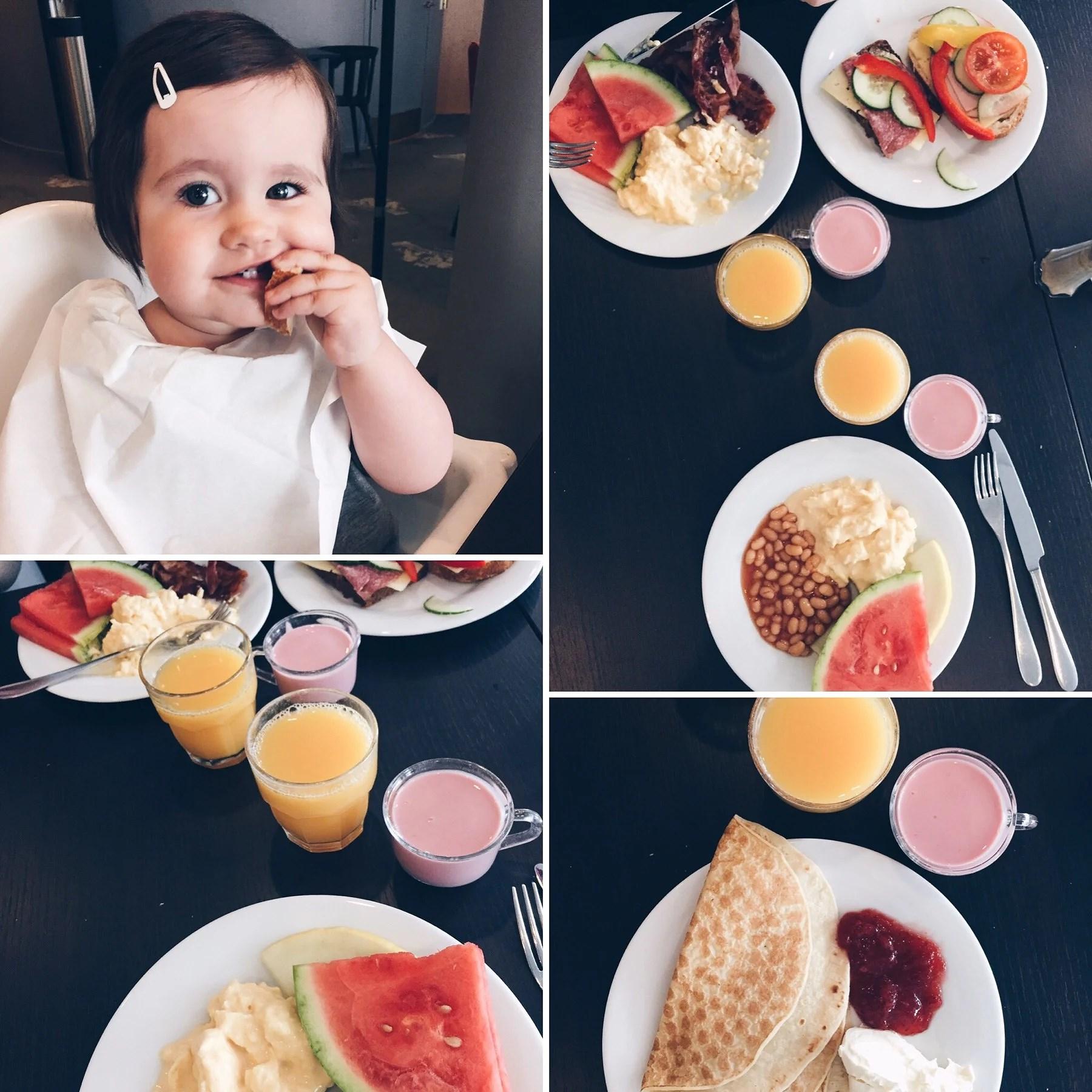 Dessa frukostar!