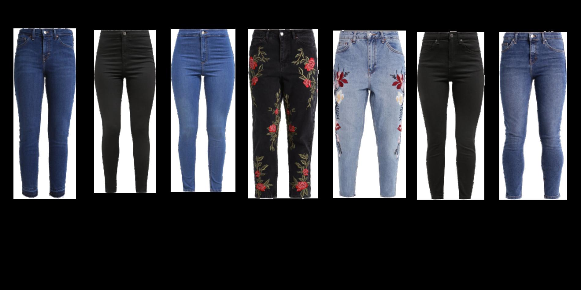 Jeans til dig med korte ben