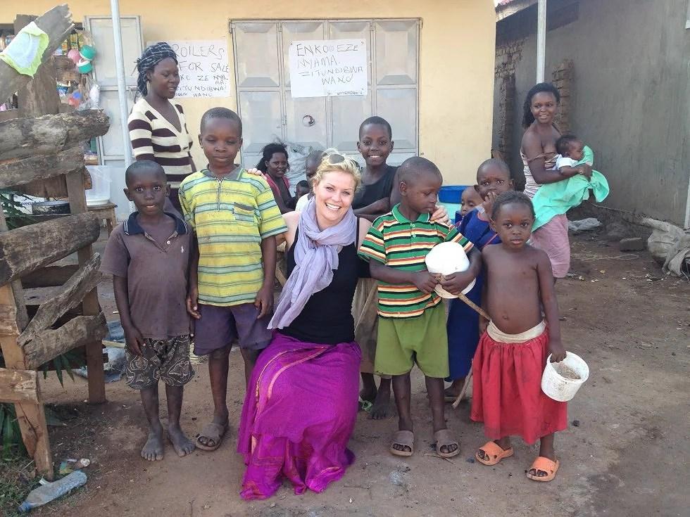 velgørenhed Sign of Life kampangene i Uganda