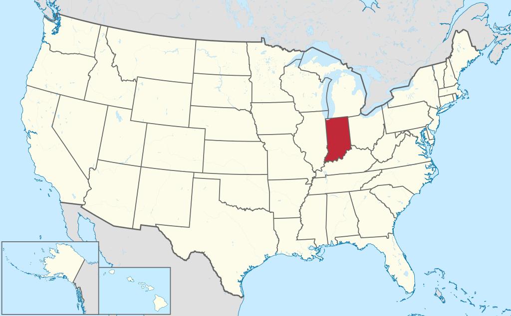 Allmänbildning: Amerikanska delstater: Michigan, Indiana och Ohio