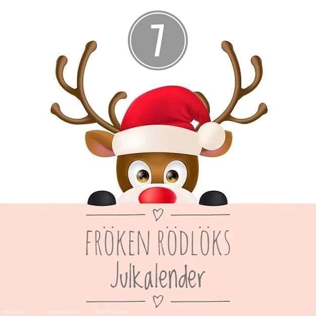 Fröken Rödlöks Julkalender - Lucka 7