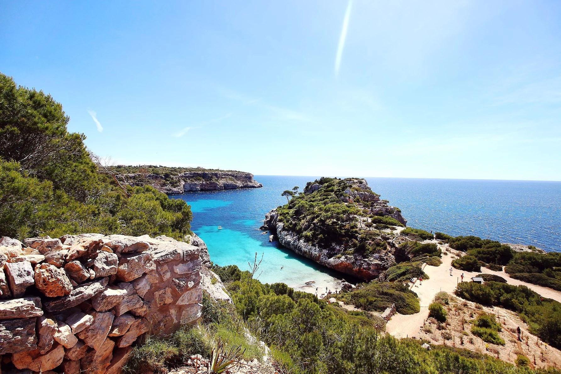 Roadtrip - letade gömda stränder i Mallorca.