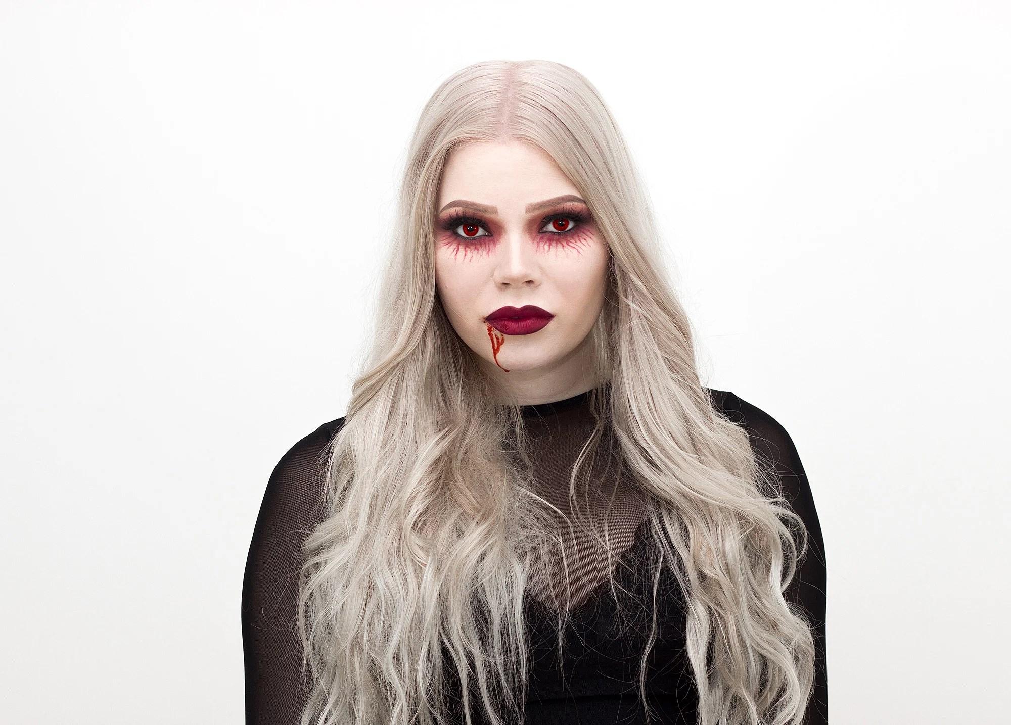 5x Halloween makeup