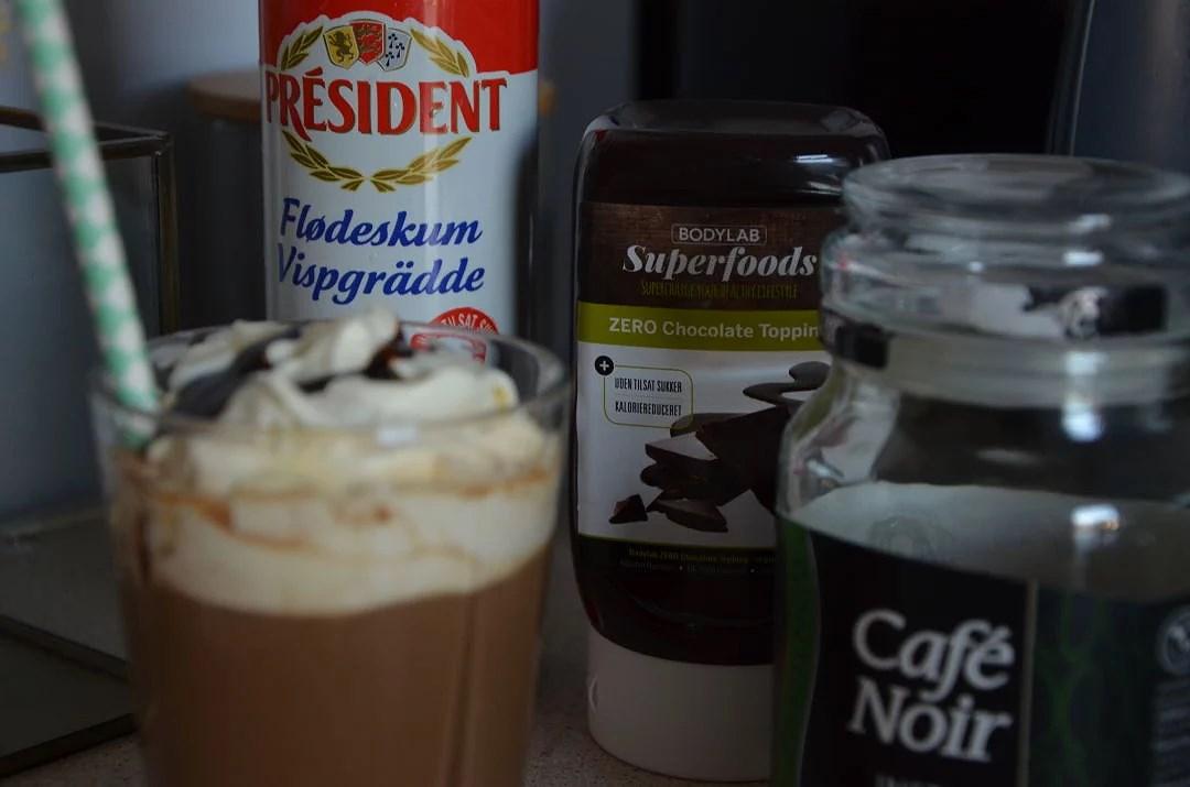 En lokkende lækker kaffe