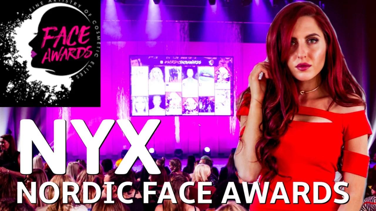 NY VIDEO! Från galan NYX Face Awards!
