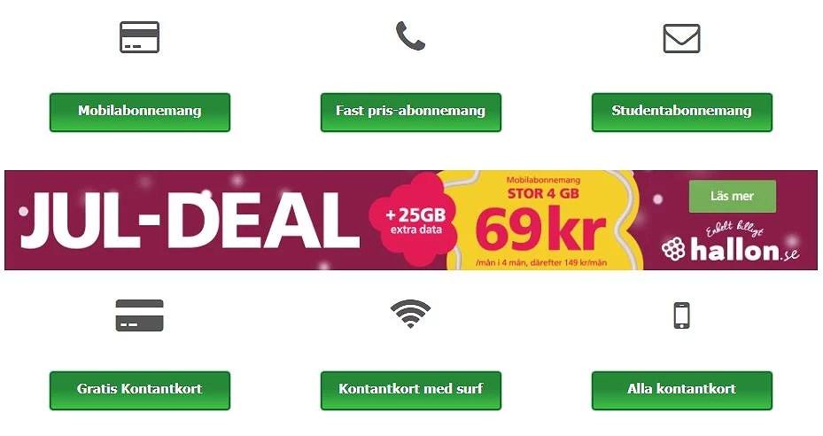 Simkort.com - jämför mobilabonnemang