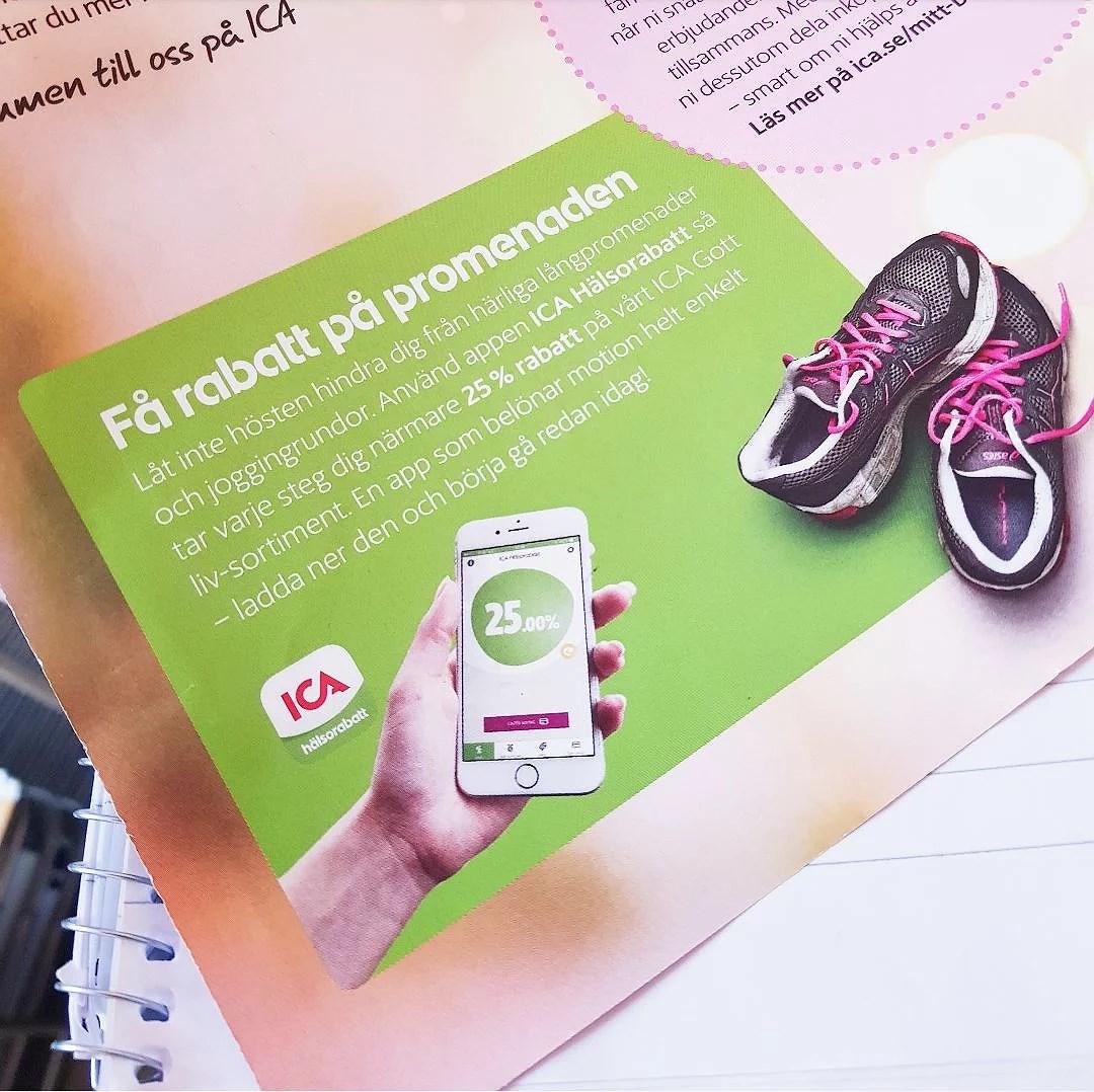 ICA Hälsorabatt med app