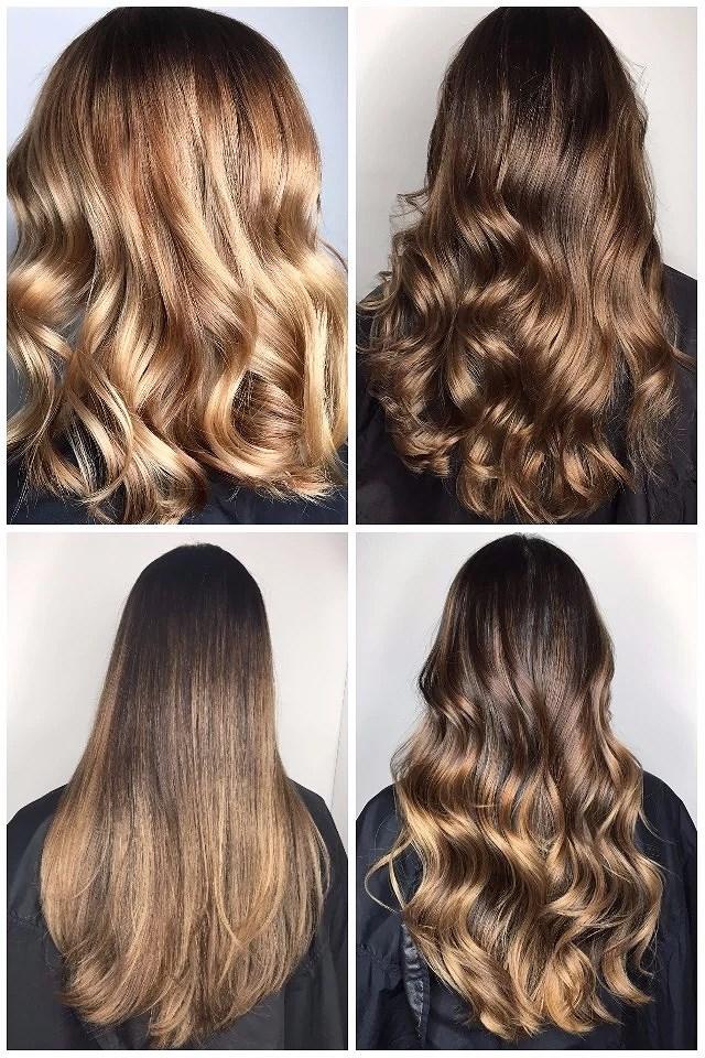 Höstens hårfärger