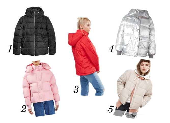 TRENDING RIGHT NOW: THE PADDED JACKET