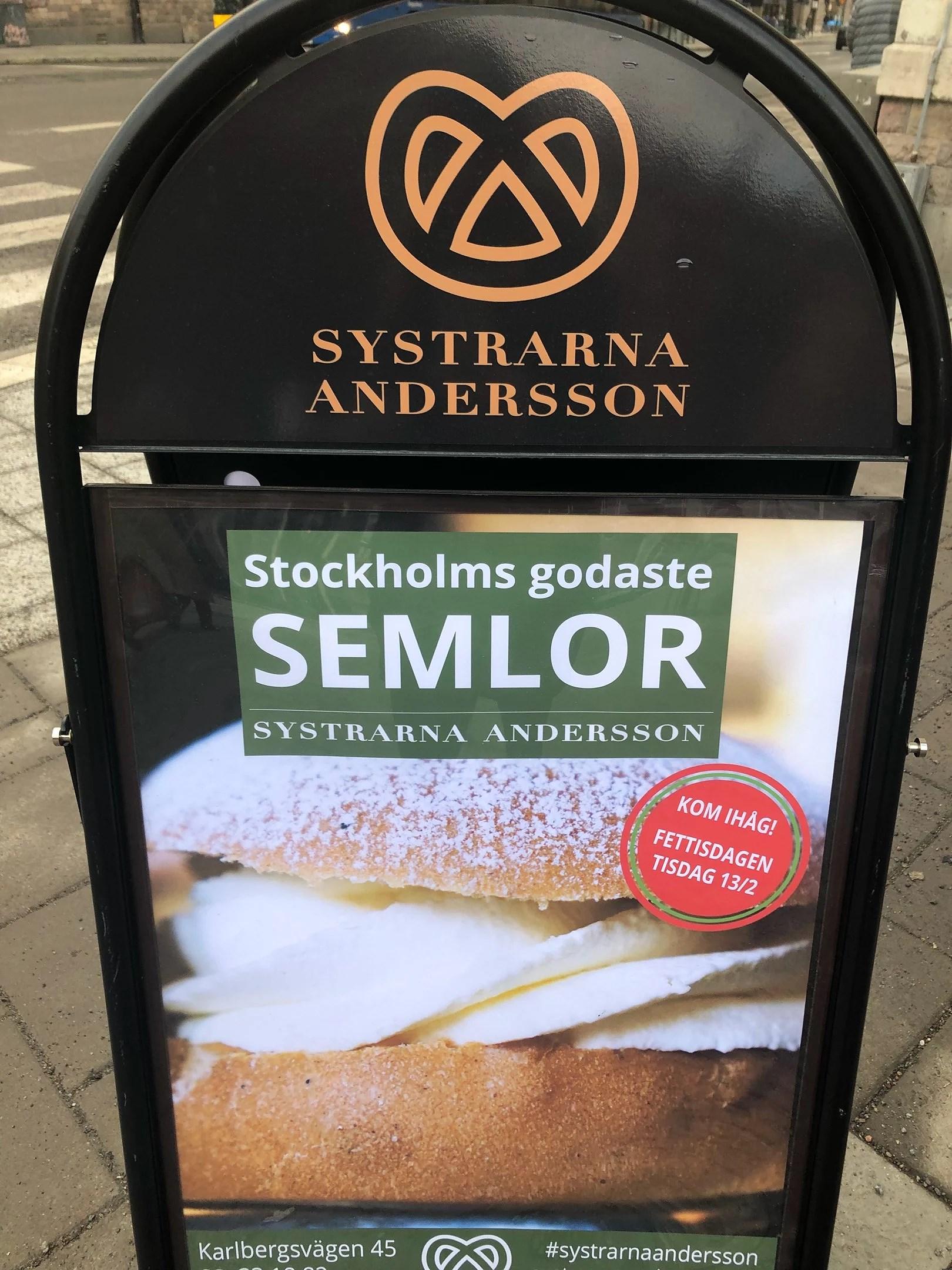 Systrarna Andersson (fd Borgs Bageri)